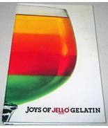 Joys of Jell-O Brand Gelatin Hardcover Spiral Binding-1st Edition-1981 [... - $12.86