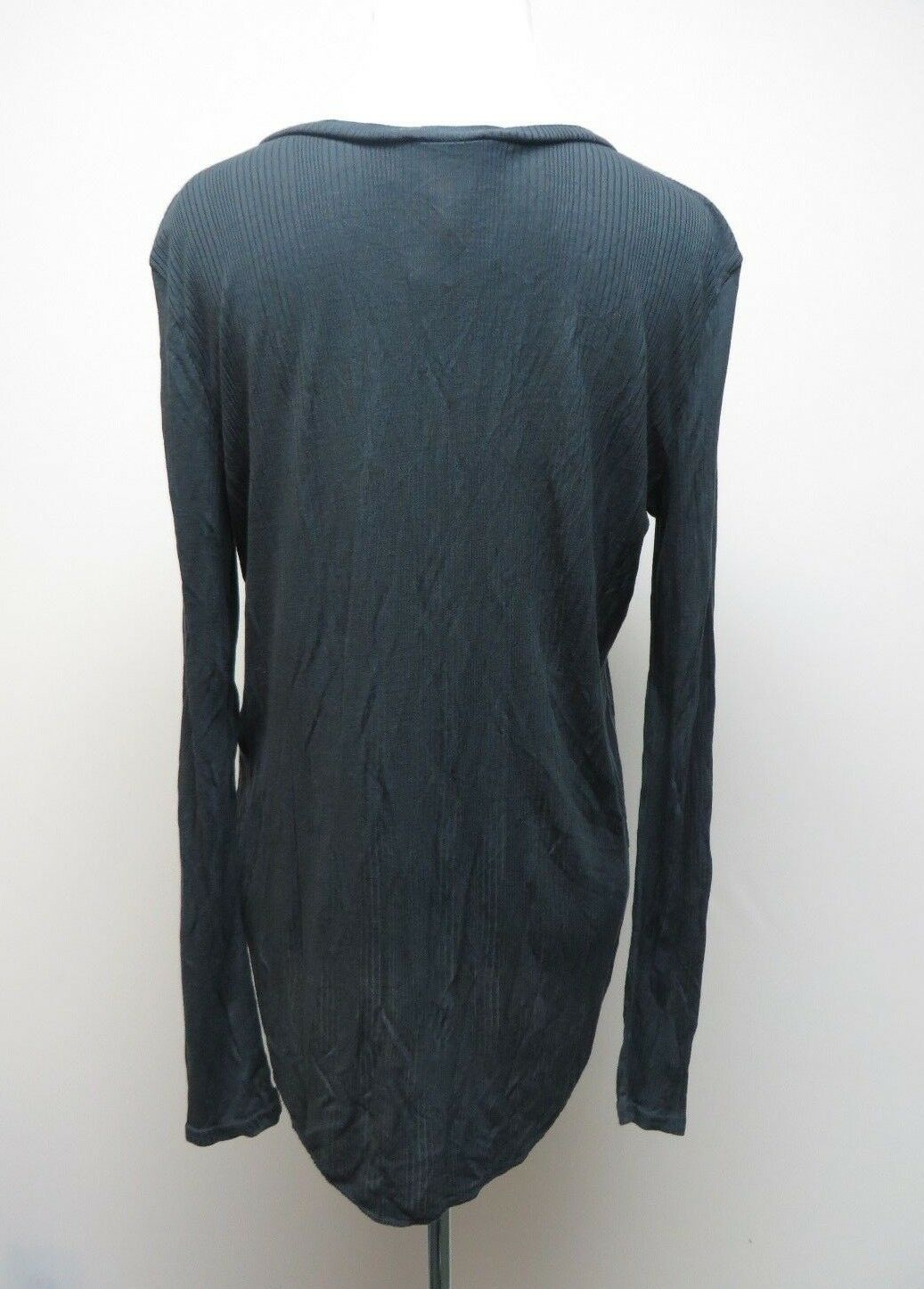Denim & Supply Ralph Lauren 8994 Womens Henley Ribbed Henley Top Size M # H 741