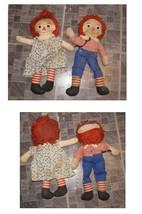 Raggedy Ann & Andy Rag Dolls Musical Wind Up Andy Plays London Bridges 1... - $46.99