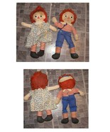 Raggedy Ann & Andy Rag Dolls Musical Wind Up Andy Plays London Bridges 1... - $48.99