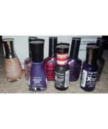 Sally Hansen polish Midnight Purple Chrome Moonstone Carnelian Royal Bla... - $30.00