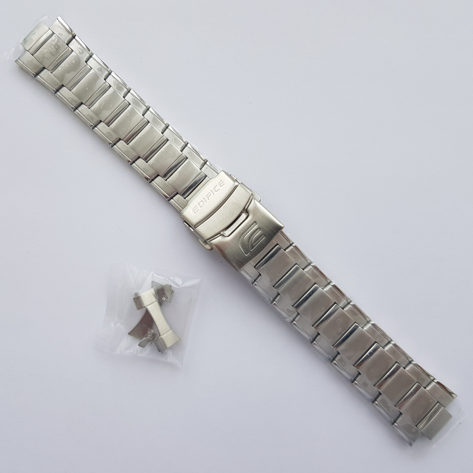 Primary image for Genuine Replacement Watch Band 20mm Stainless Steel Bracelet Casio EFA-121D-1A