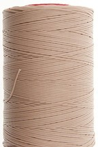 0.6mm Beige Ritza 25 Tiger Wax Thread For Hand Sewing. 25 - 125m length (125m) - $25.48