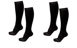 2 Pairs TASOM Compression Socks Over the Calf Below Knee Anti Fatigue An... - £8.58 GBP