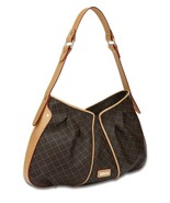 Rioni Signature  Brown THE IRIS BAG Handbag St-20236 - $168.30