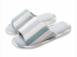 (Made By Cotton) Skidproof The Simple Style Of Home Slippers(Stripe)