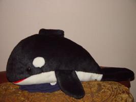 "Sea World 1992 Killer Whale Plush 22"" Long - $22.00"