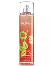 Bath & Body Works Pearberry Fragrance Mist 8 oz Body Spray NEW Fast Ship - $12.10