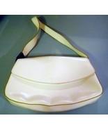 Leather Handbag Guess White Shoulder Bag Purse - $6.00
