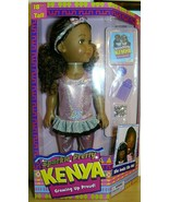 """Sparkle Pretty Kenya Doll 18"""" Growing Up Proud with accessories - $35.15"""