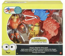 Mattel Minions The Rise Of Gru Dragon Disguise Story Pack Brand New And ... - $21.83