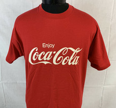Vintage Coca Cola T Shirt Promo Tee Coke Single Stitch 80s 90s USA XL So... - $39.99