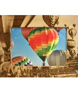 Albuquerque New Mexico with Balloons Laser Engraved Wood Picture Frame (... - $28.41