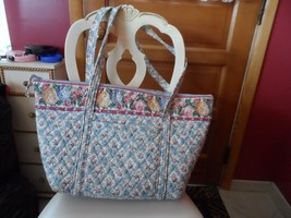 Vera Bradley Miller bag in Pastel Blue pattern EUC - $74.00
