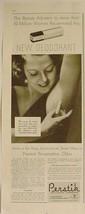 "1933 PERSTIK ""The Lipstick Deodorant"" Print Advertising - $12.95"