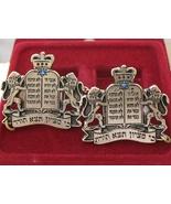Royal silver Lions TALIT CLIPS silver plated tallis talis tallit shawl c... - £11.07 GBP