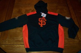 San Francisco Giants Mlb Baseball Hoodie Sweatshirt Small New w/ Tag - $54.45