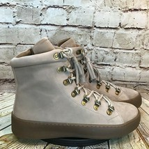 Aerosoles Papyrus Womens Brown Leather Lace Up Combat Boots Size 8.5 - $37.01
