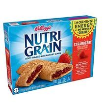 Kellogg's, Nutri-Grain Strawberry Cereal Bars, 8 ct, 10.4 oz - $9.33