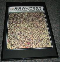 1966 UCLA vs Stanford Football Framed 10x14 Poster Official Repro - $32.36
