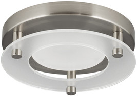 Dimmable Brushed Nickel Transitional LED Flush Mount Light ENERGY STAR 5... - $807,59 MXN
