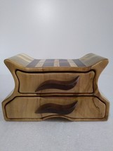 Winged Dresser Band Saw Box with secret drawer - $130.00