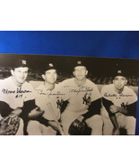 1961 WSC NEW YORK YANKEES INFIELD SIGNED 8X10 PHOTO PSA/DNA - $299.99