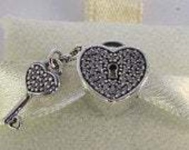 Pandora Sterling Silver Locks of Love with Clear CZ Charm - $55.00