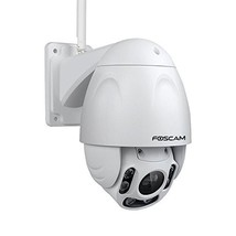 Foscam Outdoor PTZ (4x Optical Zoom) HD 1080P WiFi Security Camera - (Wh... - $283.29