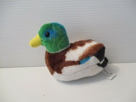 Wild Repulic Cornell Ornithology 7 inch Plush Mallard Quacking Duck Bird  - $9.99