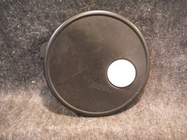"""Tupperware 3702 Black Replacement Vent N Serve Seal 7 3/4"""" Round (Marks On Top)  - $4.49"""