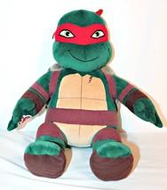 """Build A Bear Work Plush Raphael Teenage Mutant Ninja Turtle Singing 18"""" ... - $12.88"""