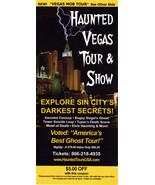 Haunted Vegas Tour & Show / VEGAS MOB TOUR Vegas Promo Card - $1.95