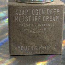 2x Youth To The People Adaptogen Deep Moisture Cream (.5oz Total) YTTP image 2