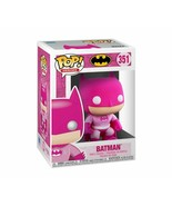 NEW SEALED 2020 Funko Pop Figure Batman Pink Breast Cancer Awareness DC ... - $13.99