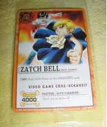 Zatch Bell Trading Card New in Package - $2.99