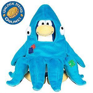 Disney Club Penguin LE Plush Series 3 Squidzoid Brand NEW!