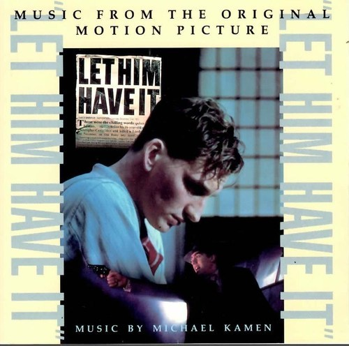 LET HIM HAVE IT SOUNDTRACK MICHAEL KAMEN CD  RARE