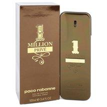 Paco Rabanne 1 Million Prive 3.4 oz Eau De Toilette Cologne Spray image 3