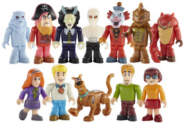 Character Building Sccoby Doo Micro Figure - Choose from Scooby, Velma, ... - $4.16+