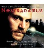 NOSTRADAMUS SOUNDTRACK BARRINGTON PHELOUNG CD  RARE - $4.95