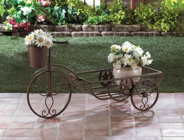 Cast Iron Lone Star Horseshoe Bicycle Planter - $49.95