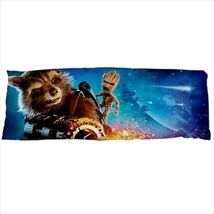 dakimakura body hugging pillow case gotg rocket raccoon groot geek nerd cover  - $36.00
