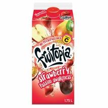 4x Fruitopia Strawberry Passion Awareness Juice Drink 1.75 Litre - Canada -FRESH - $40.32