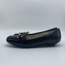 AK Anne Klein i Flex Womens Black Leather Shoe Low Heel Style, Size 8.5M - $19.80