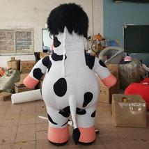 Cow mascot  inflatable doll costumes inflat mascot image 3