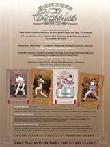 2005 donruss classic promo flyer sell sheet babe ruth,willie mays ect rare - $14.99