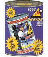 1997 pinnacle in a can promo flyer sell sheet baseball rare - $9.99