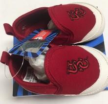 USC University of South Carolina Gamecocks Infant Sz 3 Non-Slip Soft Shoes  image 4