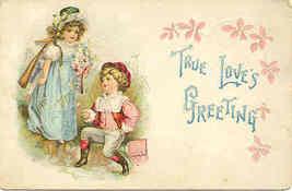 True loves Greeting Vintage 1906 Post Card - $5.00